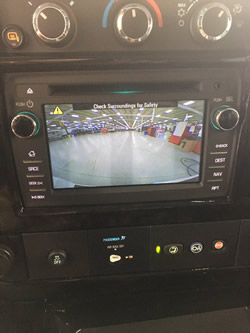 Backup Camera in Navigation Screen