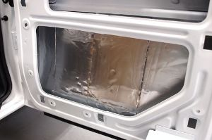 Dynamat Sound Deadening in Doors