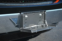Front Step Bumper - open