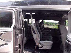 2019 Gray Metallic Ford Transit Conversion Van