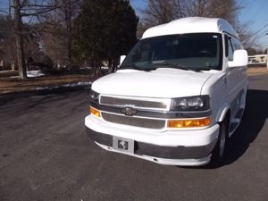 2014 Chevrolet All-Wheel Drive Explorer Limited SE Hightop Conversion Van