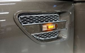 Side Air Vents with Turn Signal Lights