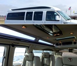 Vista Cruiser Sport Roof With Full Panoramic Automotive Glass