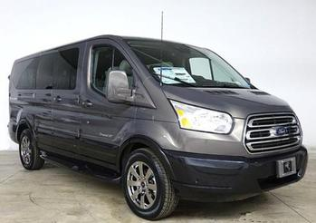 Ford Transit Lunar Sky with Deep Slate Pearl Cladding (RWB)