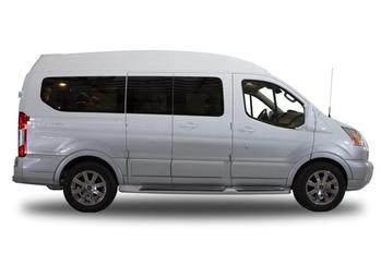 Ford Transit Oxford White with Ingot Silver Fade Paint (RWB)