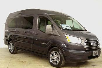 Ford Transit Lunar Sky with Deep Slate Pearl Fade Paint (RWB)