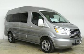 Ford Transit Ingot Silver with 395 Fade Paint (RWB)